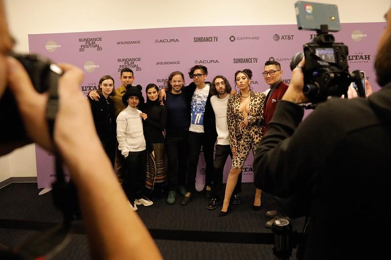 Diane Guerrero, Wilmer Valderrama, Kali Uchis, Moises Arias, Mateo Arias, Esteban Arango, Erick Castrillon, Blast Beat