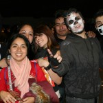 Scary groups of diablitas, calaveras and even Pinnocchios showed up at the Cafe Tacvba concert on Halloween night. One thing did not change: luchadores, as usual, were in the house.
