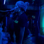 Anita Tijoux in the dark