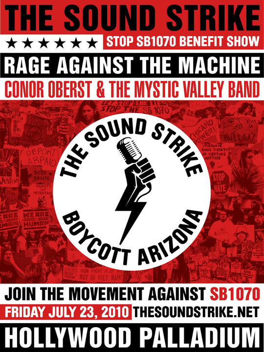 Rage Against the Machine July 23rd
