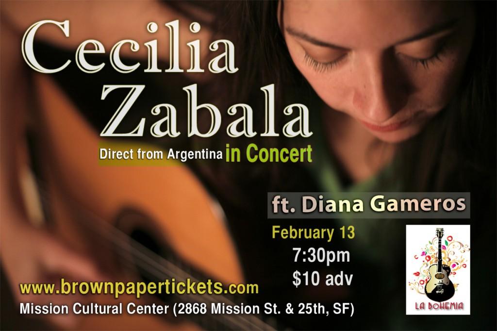 Cecilia Zabala poster