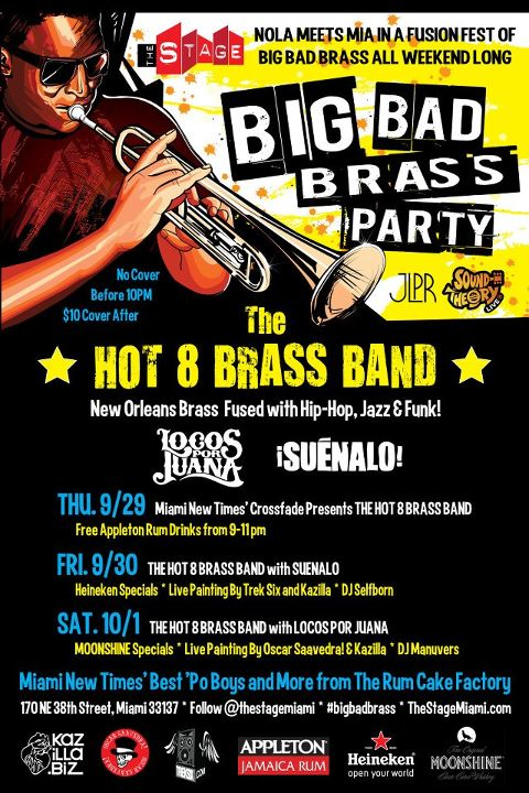The Stage Presents Big Bad Brass Party Weekend