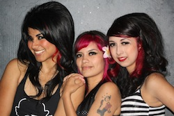 Psychobilly girls. Photo courtesy of Punk Outlaw.