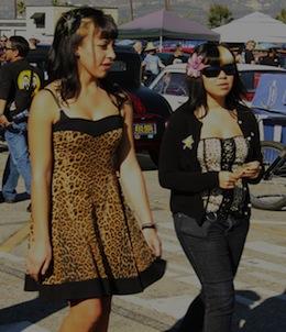 Psychobilly Girls. Photo courtesy of Punk Outlaw.