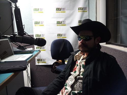 Entrevista de radio en Las Vegas.