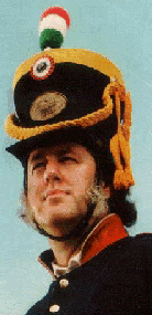 Actor Dan Overpeck as John Riley.