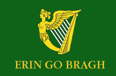 The San Patricios' flag.