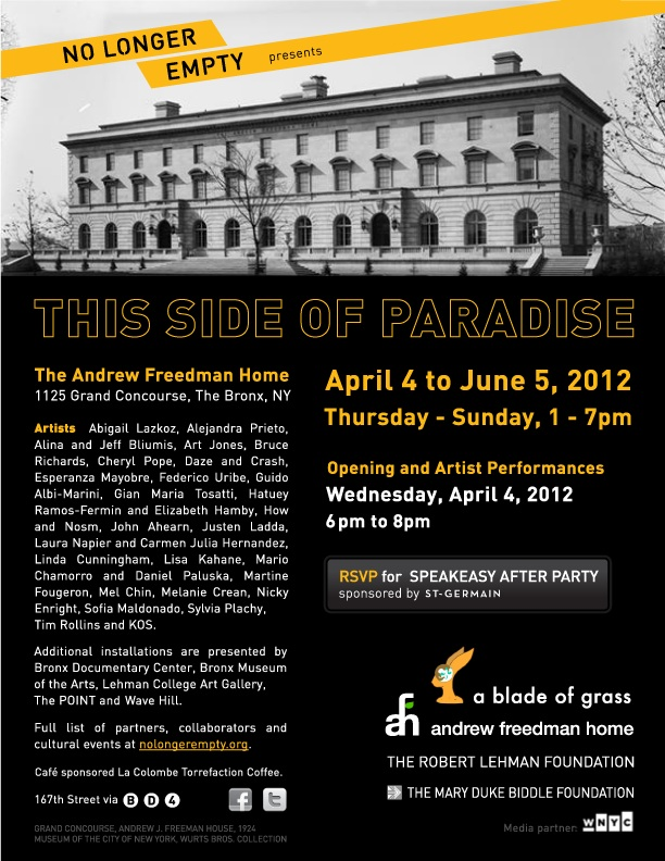NLE This Side of Paradise Invite
