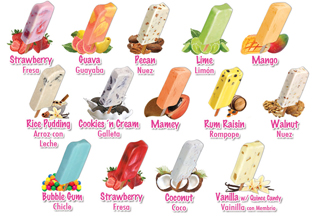 La Michoacana Variety of Flavors