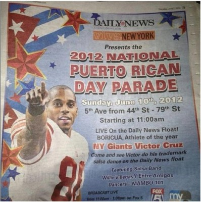 Bandera Cuba for PRDay Parade