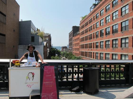 Newyorkina at Highline