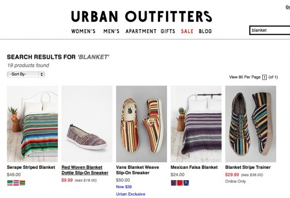 Urban Outfitters Blanket Series