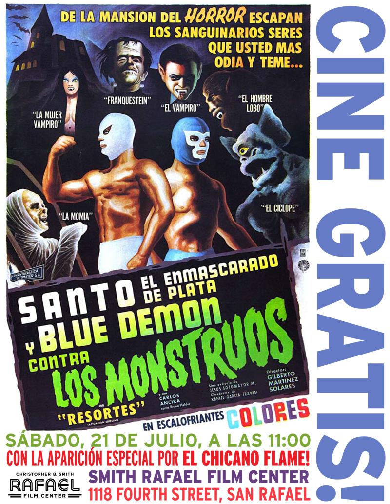 El Santo flyer