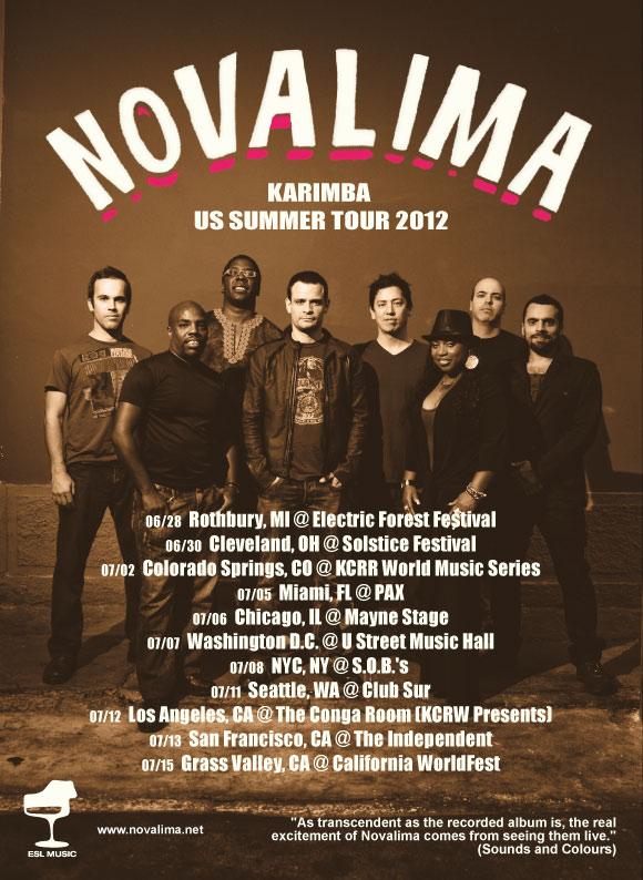 NovalimaFlyerUSSummerTour2012