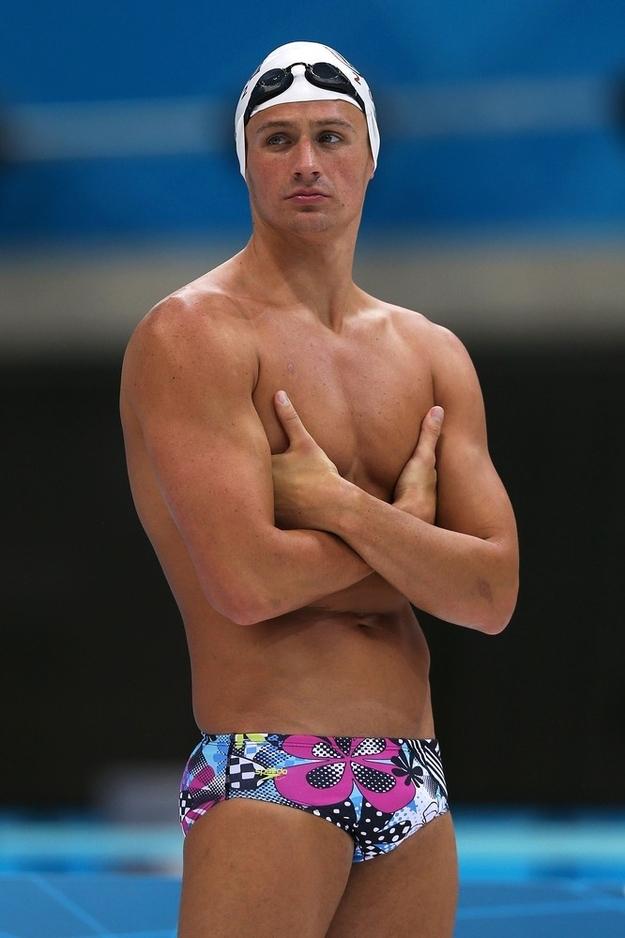 Ryan Lochte And Michael Phelps Speedo