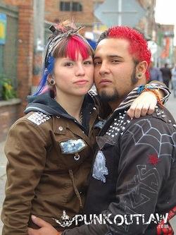 bogota punk couple
