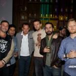 DJ Saro, Malverde, Remezcla's Andrew Herrera, & company