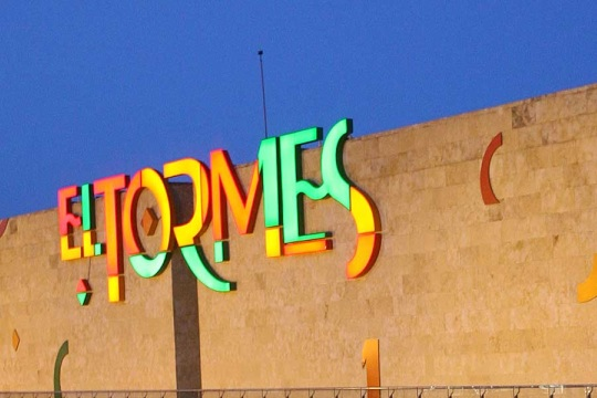 El Tormes Centro Commercial and site of the carnage of our first date thing.