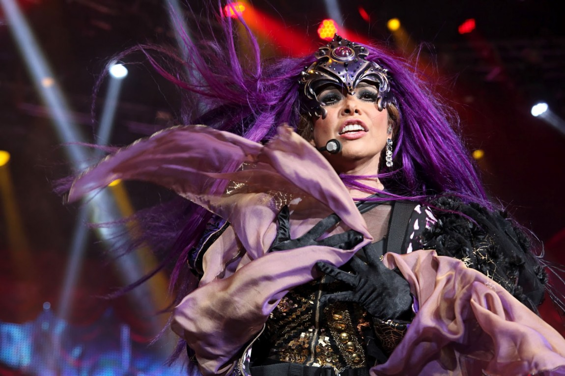 gloria trevi purple