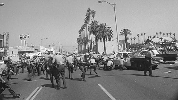 ruben salazar- chicano moratorium LA_police
