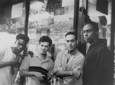 HOMEBOYS-john-leguizamo-doug-e-doug-mario-joyner-and-nestor-serrano-in-hangin-with-the-homeboys-1991-large-picture
