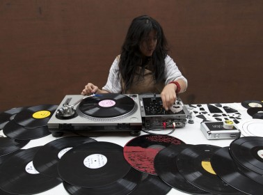 Maria Chavez turntables