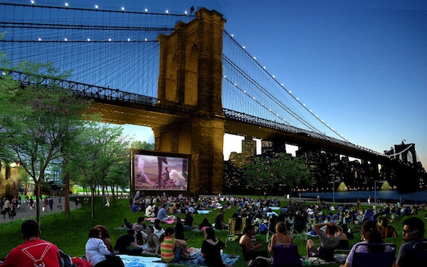 NYC: Your Free Outdoor Summer Movies Guide
