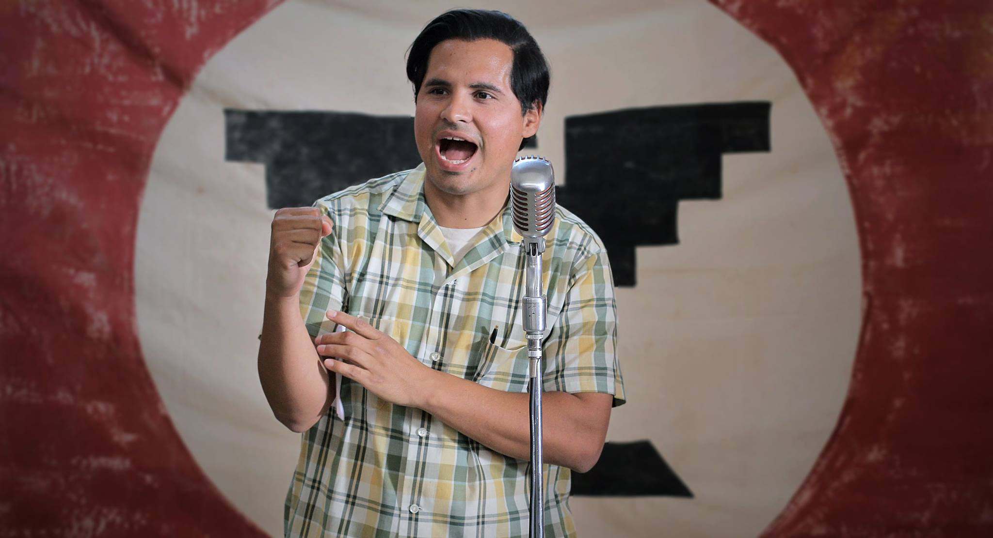 Alejandro Chavez on Watching Michael Peña Play His Grandfather in the 'Cesar Chavez' Movie