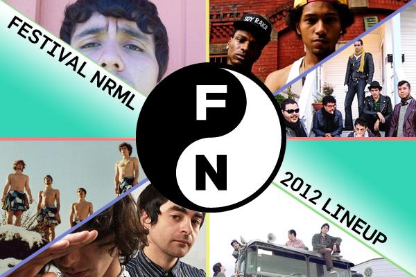 Festival Nrmal 2012 Lineup: Bam Bam, Astro, Los Rakas, etc.