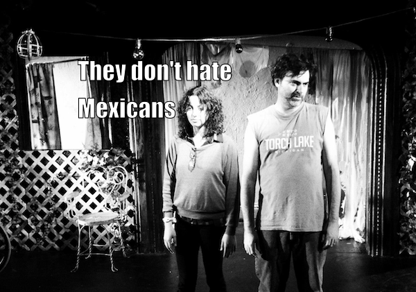 """The Cast/Crew of """"I Hate Fucking Mexicans"""" Don't"""