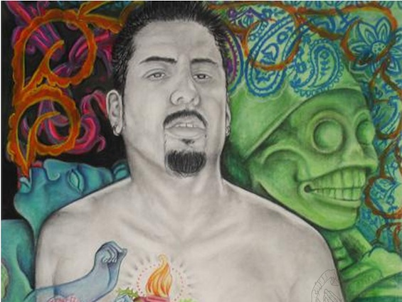 "Jose Cuervo Tradicional Artist Profiles: Jesus 'Cimi' Alvarado, ""Conversations About our History"""