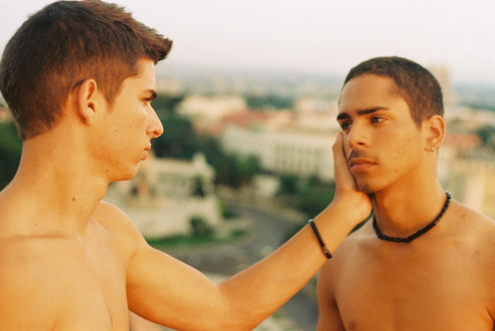 Gay latino man photo