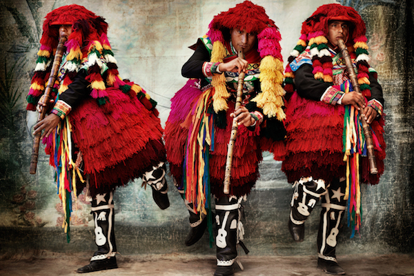 NYC: Check out Mario Testino's New Photo Exhibit, Showcasing Stunning Textures and Colors of Peruvian Traditional Dress