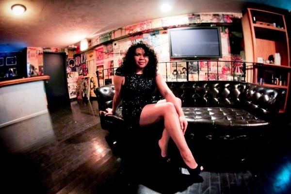 Meliss Duprey Latina actress fish eye
