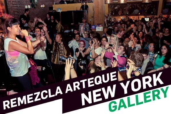 PHOTO GALLERY: Remezcla Arteque NY feat. Dave Nada, Li Saumet of Bomba Estereo, Que Bajo?!, Peligrosa + more!