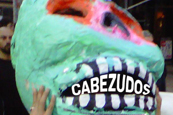 descolonizARTE May Day Cabezudos