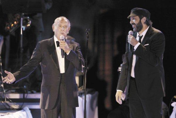 Despierta: Oscar de la Renta & Juan Luis Guerra Unite for a Rare Duo!