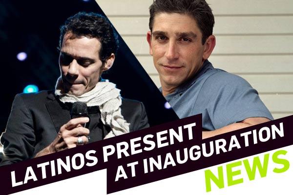 Latinos Present at Inauguration