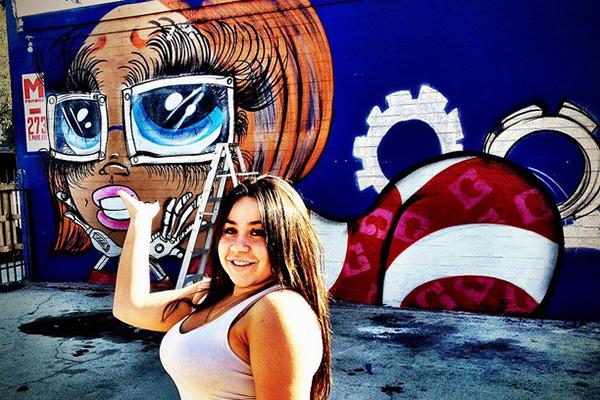 Meet Sand One, An Artist Making Her Mark in LA's Male-Dominated Street Art Scene