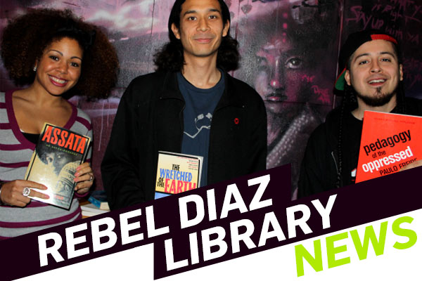 Rebel Diaz Arts Collective Launches Community Library in the Bronx