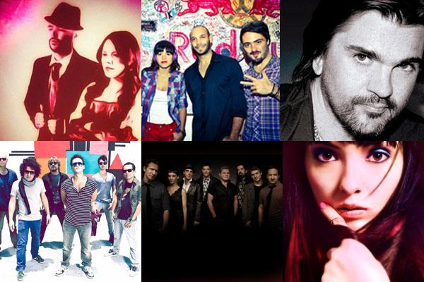 GIVEAWAYS GALORE: Los Amigos Invisibles, Bomba Estereo, Bajofondo & many more!