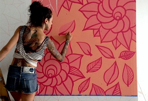 Instagram of the Week: Illustrator/Artist/DJ Marilyn Rondón