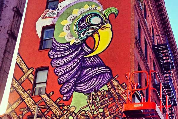 Instagram of the Week: Relive the Art & Culture Movement in El Barrio with #LosMurosHablanNYC