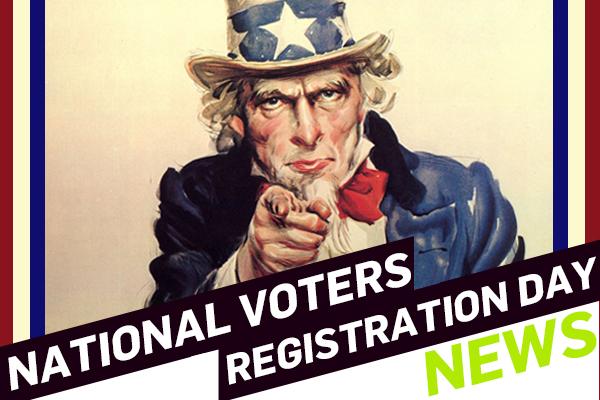 It's National Voter Registration Day. So Register!