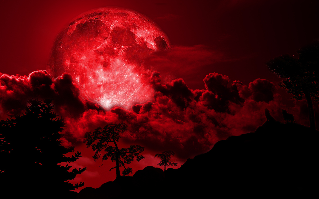 red moon on friday - photo #42