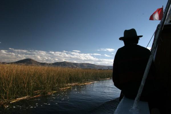 living quechua lake titicaca