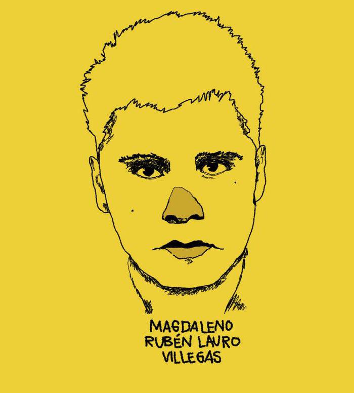 Yo, Majo, quiero saber dónde está Magdaleno Rubén Lauro Villegas.