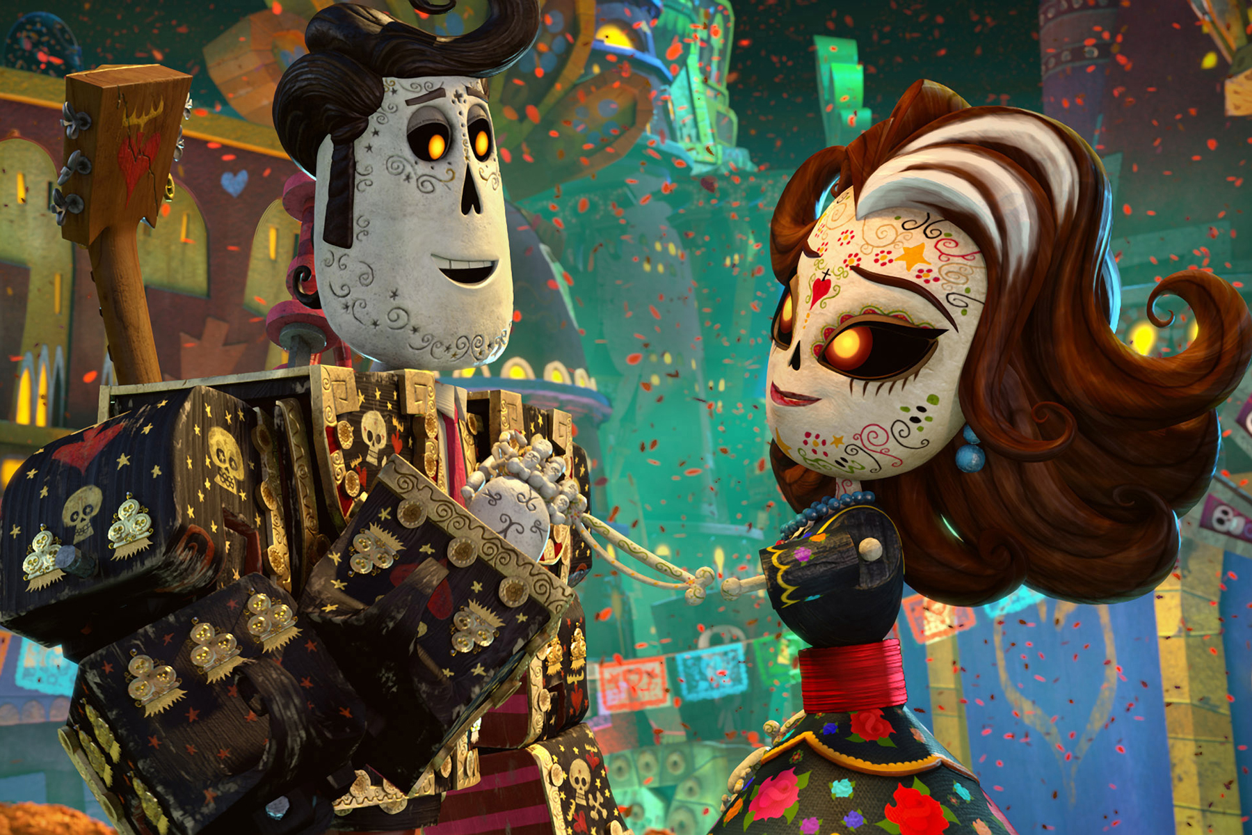The Director of 'The Book of Life' Grew Up Thinking Skeletor Was a Dia de Muertos Superhero
