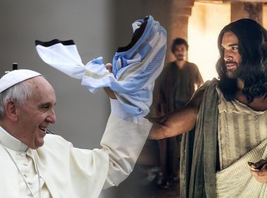 Jesus and Pope are Argentine