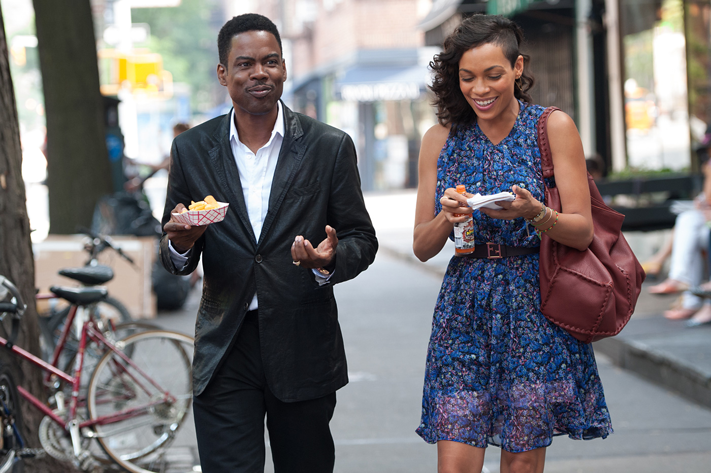 TRAILER: Rosario Dawson Stars in Chris Rock's Comedy on Being Black & Famous in Post-Racial America